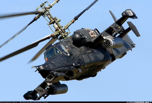 Ka-50 Black Shark Powerful Battle Helicopter2