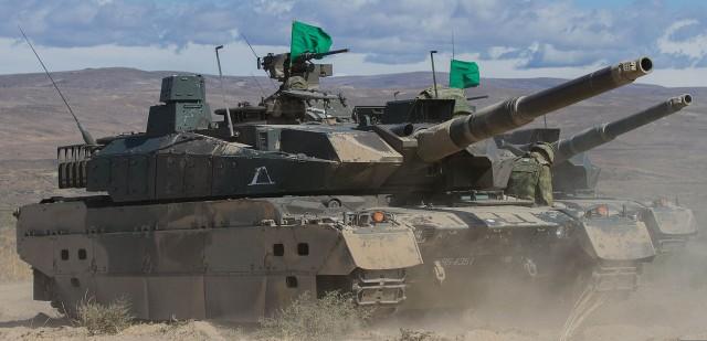 japanese Type 10 tank