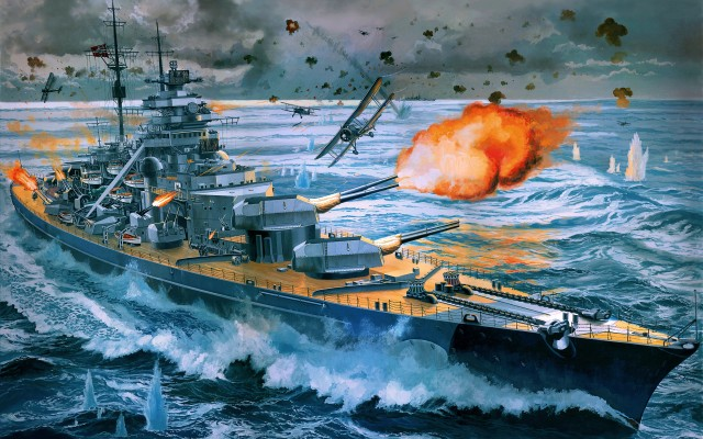 military-german-battleship-bismarck_237438
