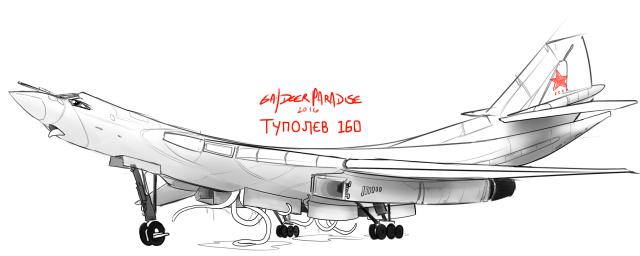 Tupolev+Tu-160+Blackjack